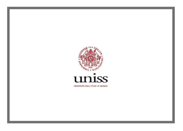University of Sassari – School of Architecture