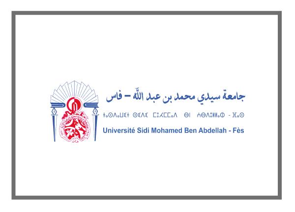 Université Sidi Mohamed Ben Abdellah
